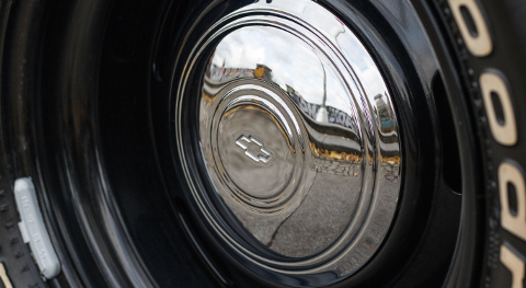 Chrome-plated hubcaps