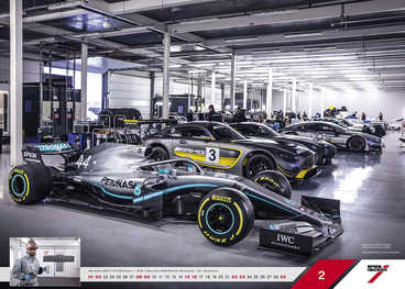 Febbraio - Mercedes-AMG F1 W10 EQ Power+ l 2019 l Mercedes-AMG Petronas Motorsport l UK - Silverstone